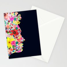 my head is your garden Stationery Cards