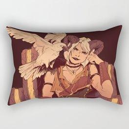 Demon Temptress Rectangular Pillow