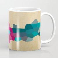 crystals Mugs featuring Crystals by Samantha Ranlet
