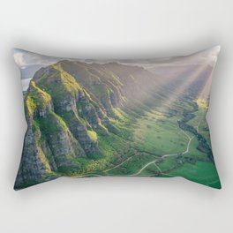 Jurassic Park Rays Rectangular Pillow