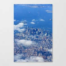 Tiny Manhattan Canvas Print