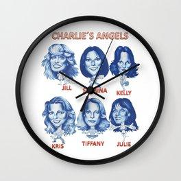Charlie´s angels Wall Clock