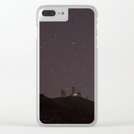Infinity stars Clear iPhone Case