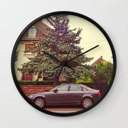 "Audi A4 ""The Sleazy Beast"" Wall Clock"