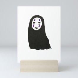 lil No Face / Spirited Away Mini Art Print