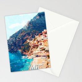 Positano, beauty of Italy Stationery Cards