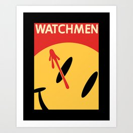 Who Watches Who? Art Print