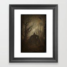Horror House Framed Art Print