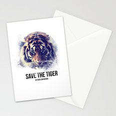 Save the Tiger  Stationery Cards