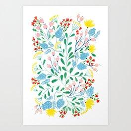Floral Garden Art Print
