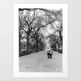 Central Park Walks Art Print