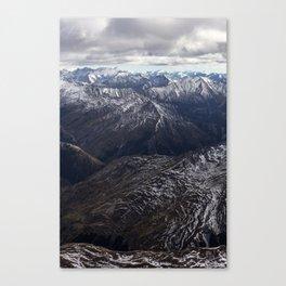 Southern Alps, NZ Canvas Print