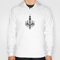chandelier Hoodies featuring chandelier by Fairytale ink