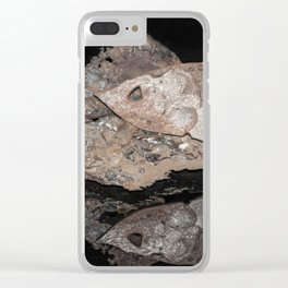 """""""Reflections"""" - Metal Sculpture - Fish Clear iPhone Case"""