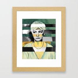 Matisse's Woman with a Turban & Greta Garbo Framed Art Print