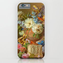 "Gerard van Spaendonck ""Flower Still-life with an Alabaster Vase"" iPhone Case"