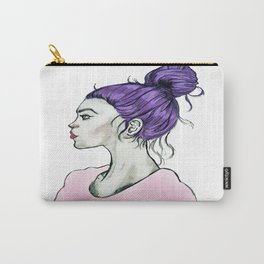 Hair Bun Version2 Carry-All Pouch