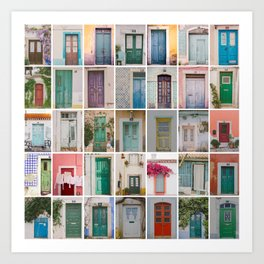 Door Collection Art Print