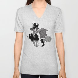 The Wizard of Cats Unisex V-Neck
