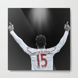 Liverpool FC: Daniel Sturridge 15 Metal Print