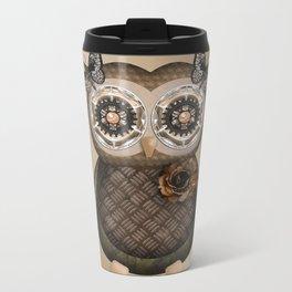 Pretty Owly Bird Girl Travel Mug