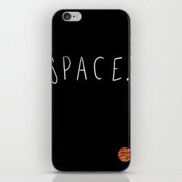 Space. iPhone Skin