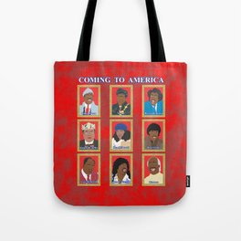 Coming to America Tote Bag