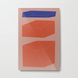Minimal Geometry No. 9 Metal Print