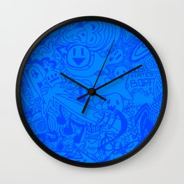 Tab Graffiti Wall Clock