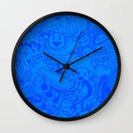 Tab Graffiti Wall Clock