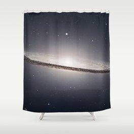 Sombrero Galaxy M104  in constellation Virgo Shower Curtain