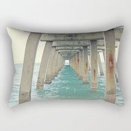 Ocean Pier Rectangular Pillow