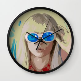 Hayley Williams Hard Times After Laughter Wall Clock