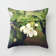 spring blossom. Throw Pillow