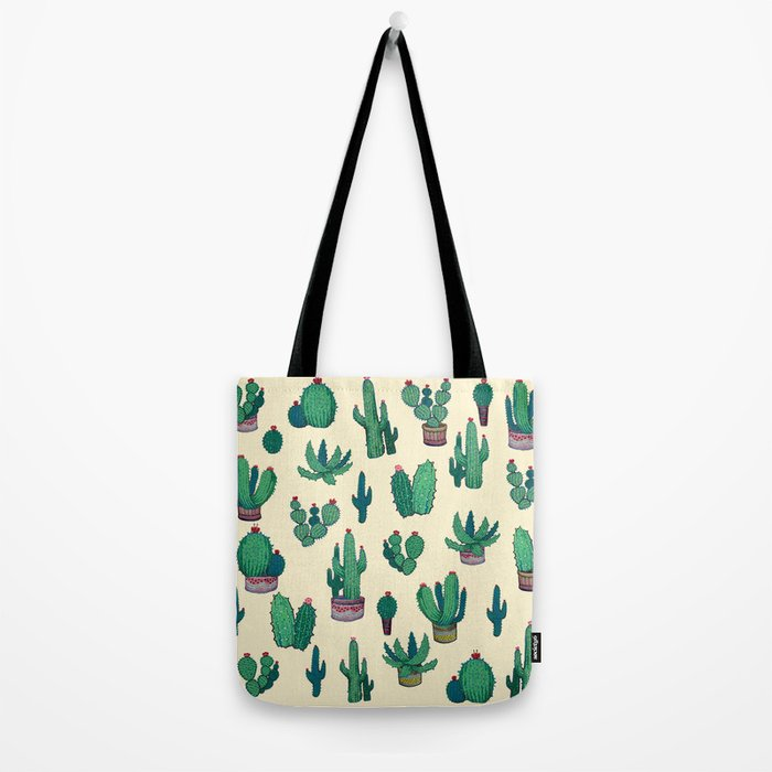 Cactus !! green Tote Bag