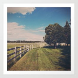 farm. Art Print