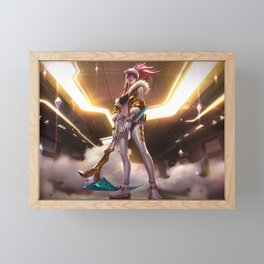 KDA Akali Prestige Edition League of Legends Framed Mini Art Print