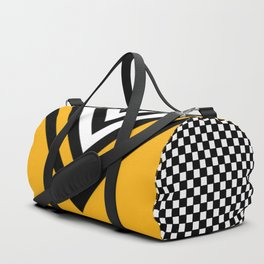 TCR- sports -yellow Duffle Bag