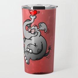 Fly me to the Moon Elephant Travel Mug