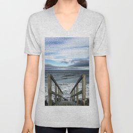 A Way to the Sea Unisex V-Neck