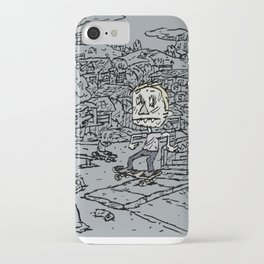 Manual pad iPhone Case