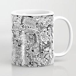 Abstract Pen & Ink #3 Coffee Mug