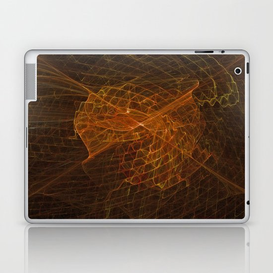 Spun Gold Laptop & iPad Skin