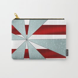 4Shades Glass: Red White Carry-All Pouch