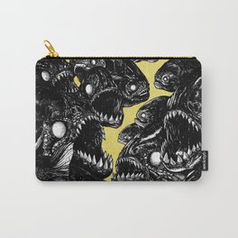 The Riot : Piranhas (color version) Carry-All Pouch