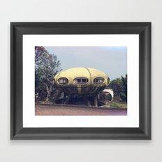 Futuro House Framed Art Print