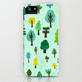 Welcome to green land iPhone Case