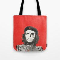che Tote Bags featuring CHE by Lucas Schievenin