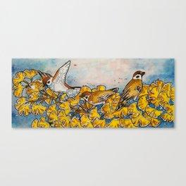 Suzume, Fall Canvas Print