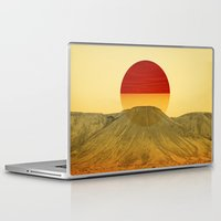 outdoor Laptop & iPad Skins featuring Warm abstraction by Stoian Hitrov - Sto